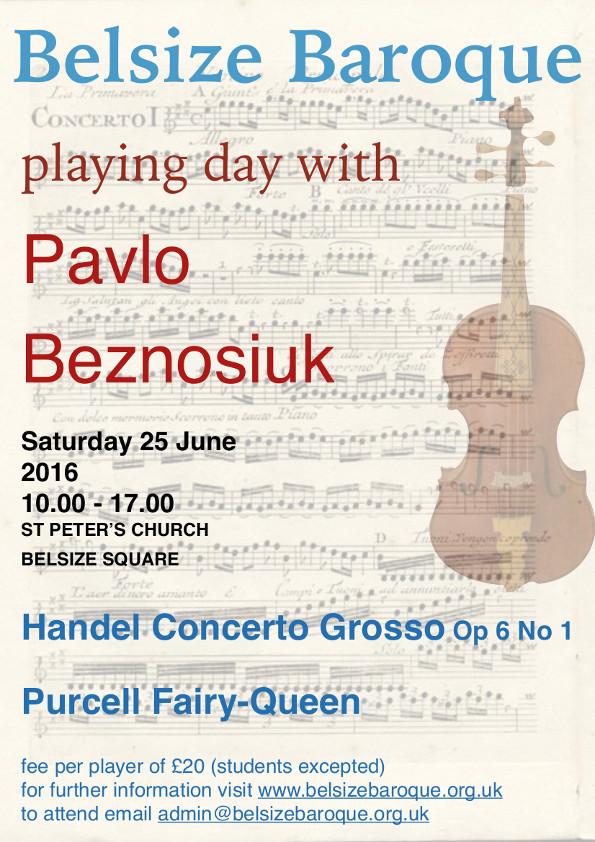 Pavlo Beznosiuk playing day