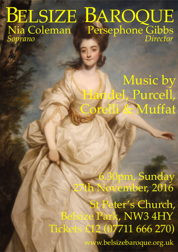 Persephone Gibbs concert