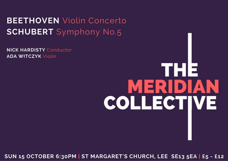 MERIDIAN Concert flyer