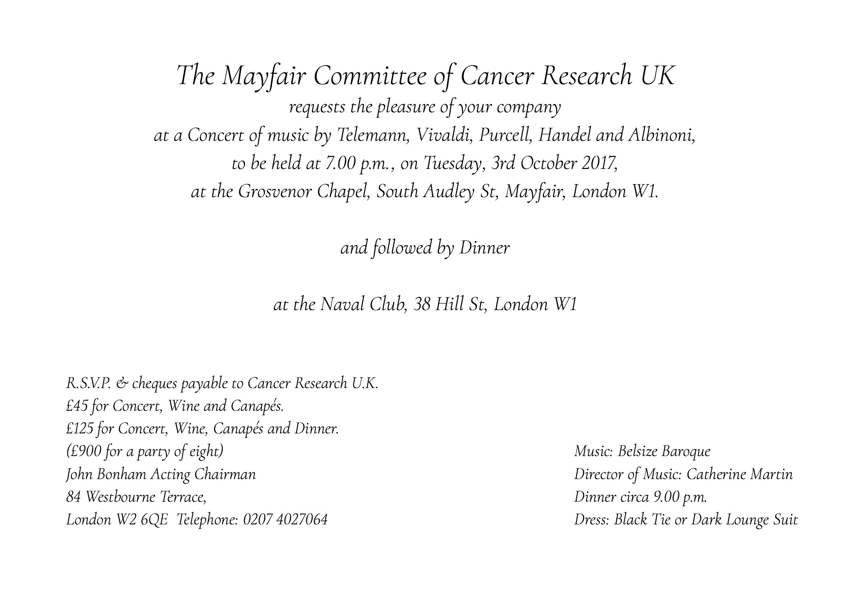 Cancer Research Invitation