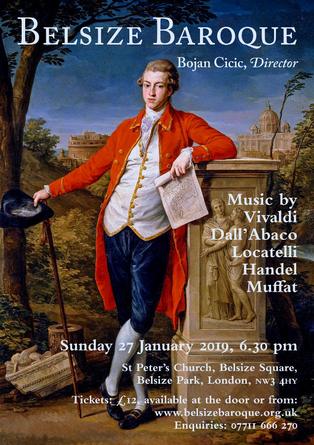 Belsize Baroque Concert January 2019