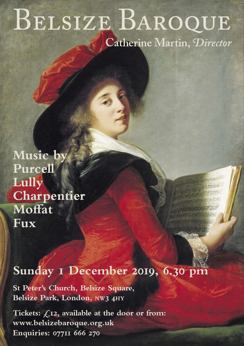 Belsize Baroque Concert December 2019