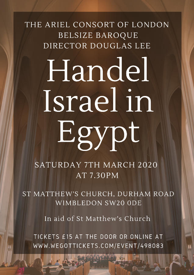 Israel in Egypt March 2020